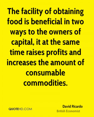 The facility of obtaining food is beneficial in two ways to the owners ...