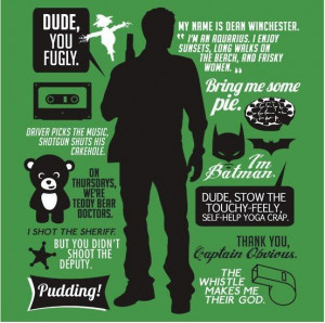 Dean Winchester Quotes | T-Shirt