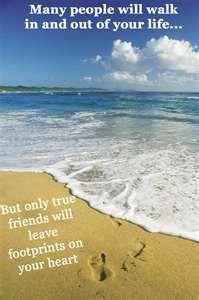 birthday rest in peace dear friend footprints heart true friends ...