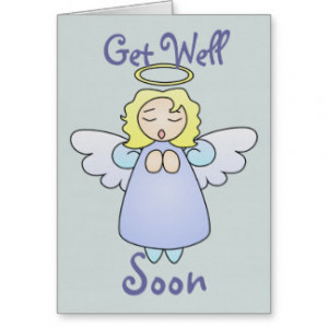Sweet Angel Get-Well-Soon Card