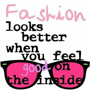 ... looks better when you feel good on the inside. #quotes #eyewear