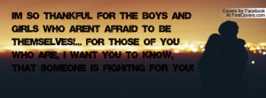 so thankful for the boys and girls who aren't afraid to be ...