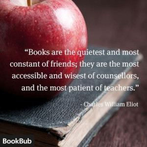 Charles William Eliot quote about books