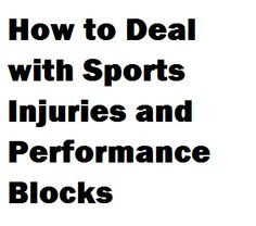 have been battling all kinds of performance problems in athletes ...
