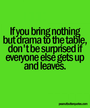 Quotes About Drama Tumblr quotes: follow