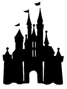 CASTLE-PRINCESS-Disney-Wall-Art-Decal-Quote-Words-Lettering-Decor ...