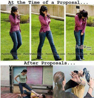 ... proposal and after proposal. This funny proposal will make you smile