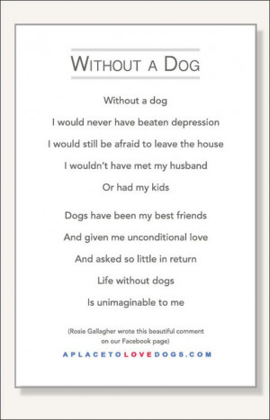 Quotes About Losing a Dog