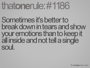quotes about breaking down emotionally