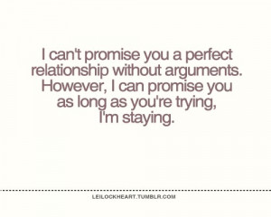 can t promise quote