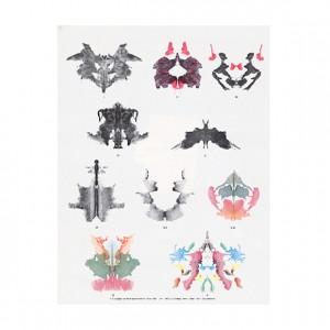 Show details for Rorschach Inkblot Test Miniature Inkblots In Color ...