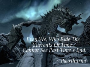 Go Back > Gallery For > Skyrim Paarthurnax Quotes