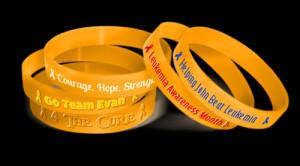 Why Buy Leukemia Awareness Wristbands from Amazing Wristbands?
