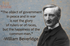 William Beveridge on The Role of Government