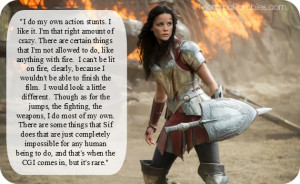 ... Aims to Empower Women as the Warrior Lady Sif! ~ #ThorDarkWorldEvent