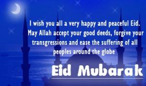 Eid Mubarak Quotes In Hindi, Urdu, English