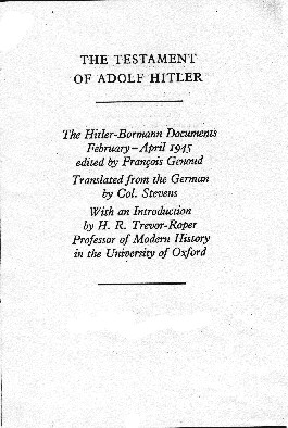 What were Hitler's views on Indian, Chinese, African and Arab people?