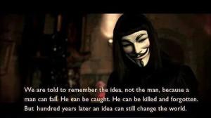 for Vendetta quotes