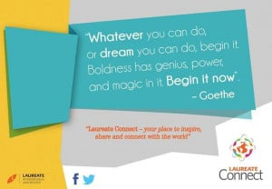 Words to get inspired by. #Quote #inspiration #Goethe