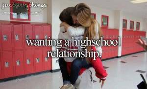 high school relationships
