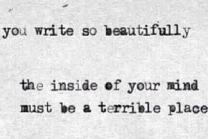 quotes beautiful drugs horror black Grunge writing mind poetry Reading ...