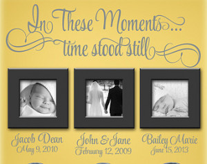 vinyl wall quotes moments in time dj