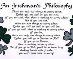 Irish quotes, Irish sayings and Irish blessings