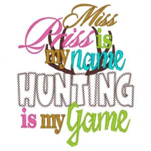 Girl Hunting Quotes Sayings