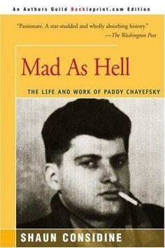 ... paddy chayefsky the master writer more worth reading paddy chayefski