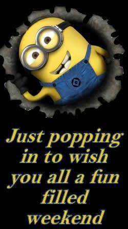 Minions Minions, Britchick Inspiration, Filling Weekend, Fun Filling ...