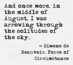 Simone de Beauvoir #quote