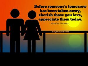 Cherish Those You Love