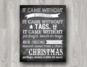 Love this quote from Dr. Seuss' How the Grinch Stole Christmas. This ...