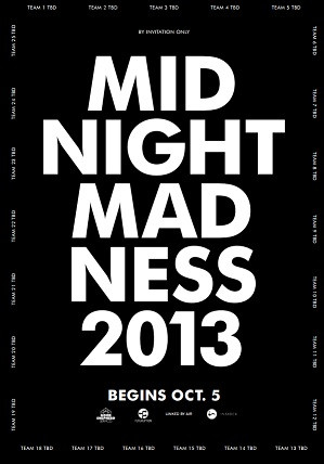Midnight Madness is expanding, practice your lateral thinking here
