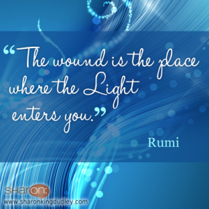 beautiful sunset rumi inspirational quote night light