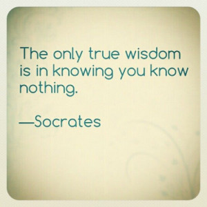 ... know that i have a lot to learn and people to learn it from amazing