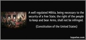 More Constitution of the United States Quotes
