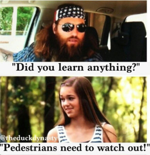 The opening sequence of Duck Dynasty shows Willie Robertson and family