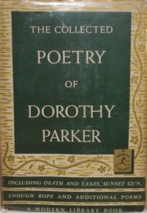 Dorothy Parker Poems