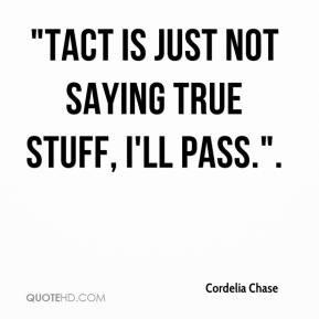 Cordelia Chase -