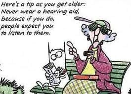 Hearing aid tip from Maxine -Northgate Hearing Services