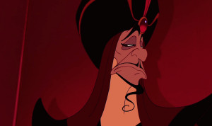 ... acquiescence. Can't trust a man with a curly beard like Jafar's