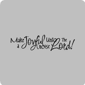 joyful noiseReligion Wall Quotes Words Sayings Removable Wall
