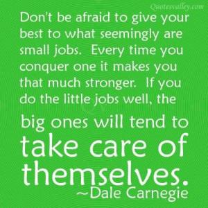 Good Job Quotes Being good at your job
