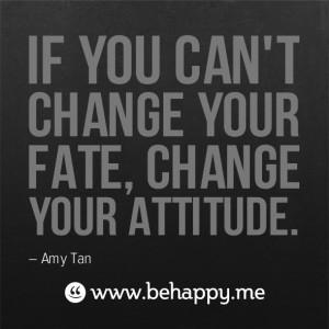 change your attitude #behappy