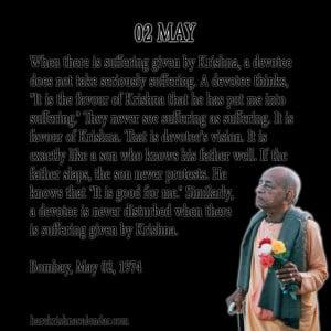 Srila Prabhupada Quotes For Month May 02