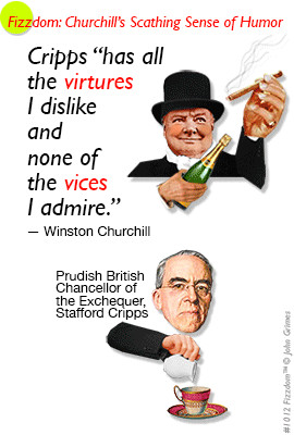 ... churchill england british stafford cripps virtues vices sense of humor
