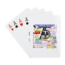 Catching Fire Movie Quotes Playing Cards for