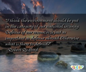 Environment Quotes