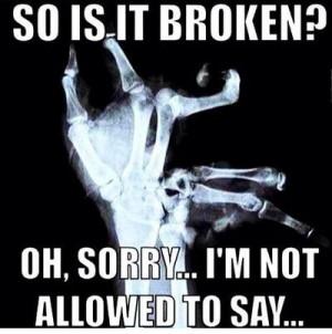 Funny broken